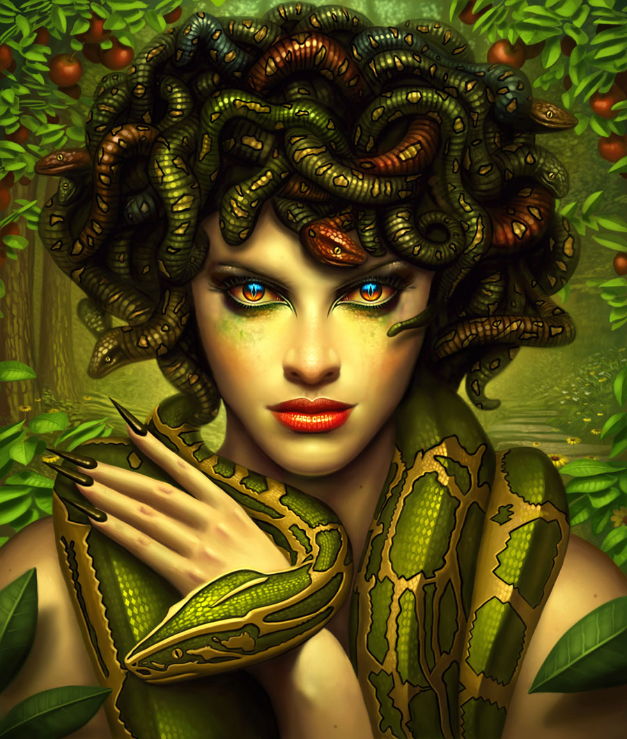 face of medusa