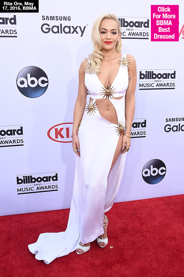 PICS] Rita Ora\'s Billboard Awards Dress — Goes Commando In Daring ...