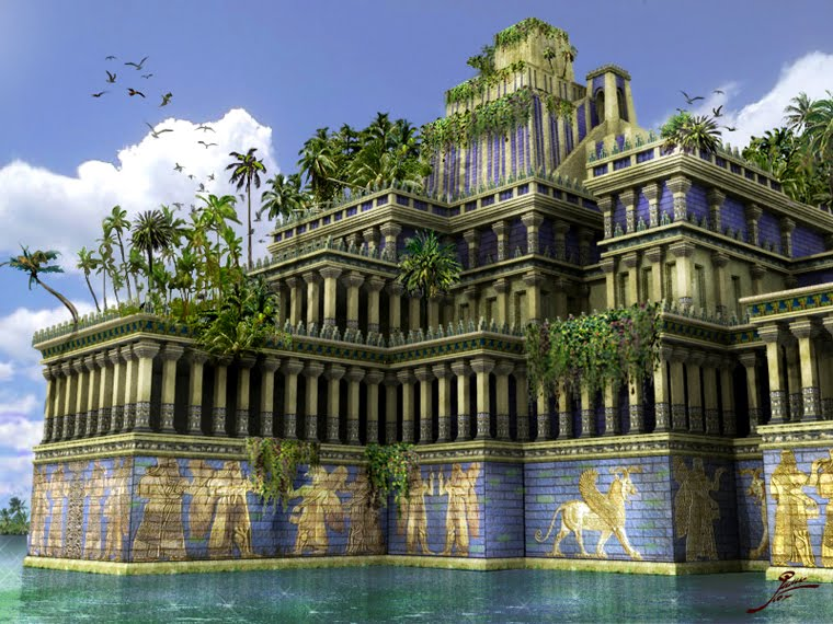 The hanging gardens of babylon thinglink for When was the hanging gardens of babylon destroyed