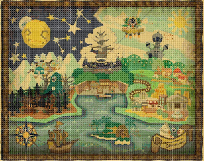 Paper Mario Ttyd Map