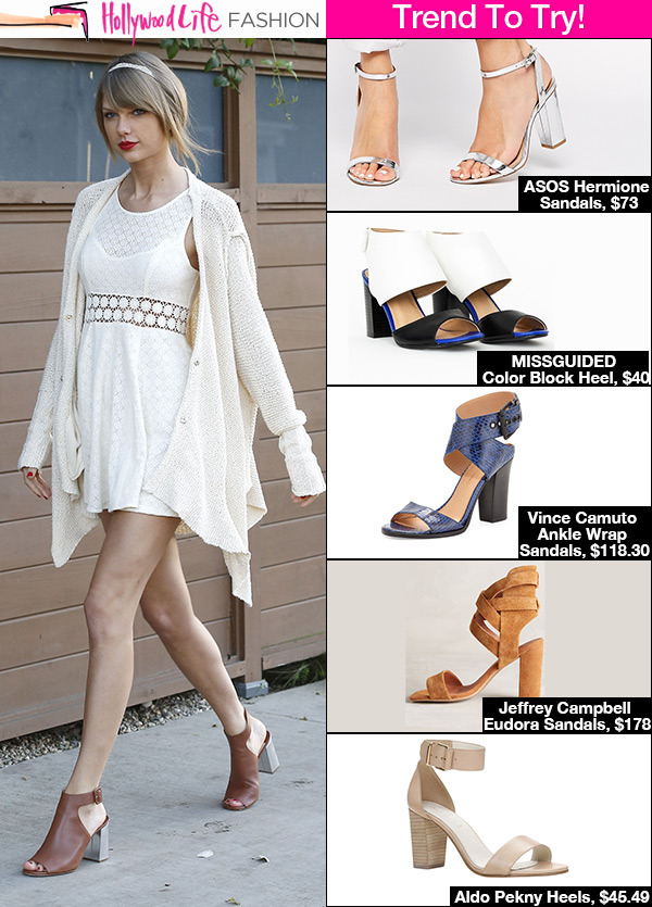 22a79c1d3b61 Block Heels   Sandals — 5 Ways To Wear Spring 2015 s Go-To Shoe ...