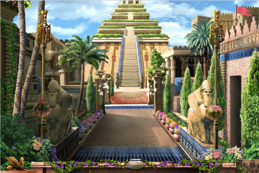 The Hanging Garden Of Babylon Thinglink