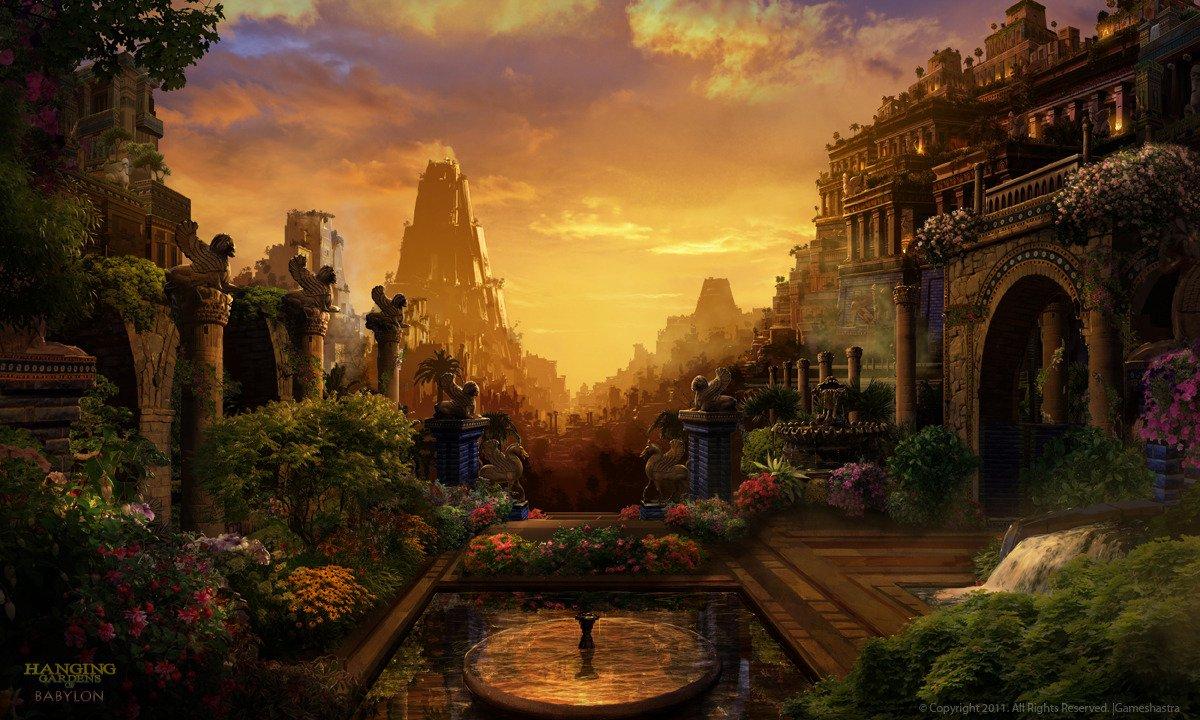 The Hanging Gardens Of Babylon Thinglink