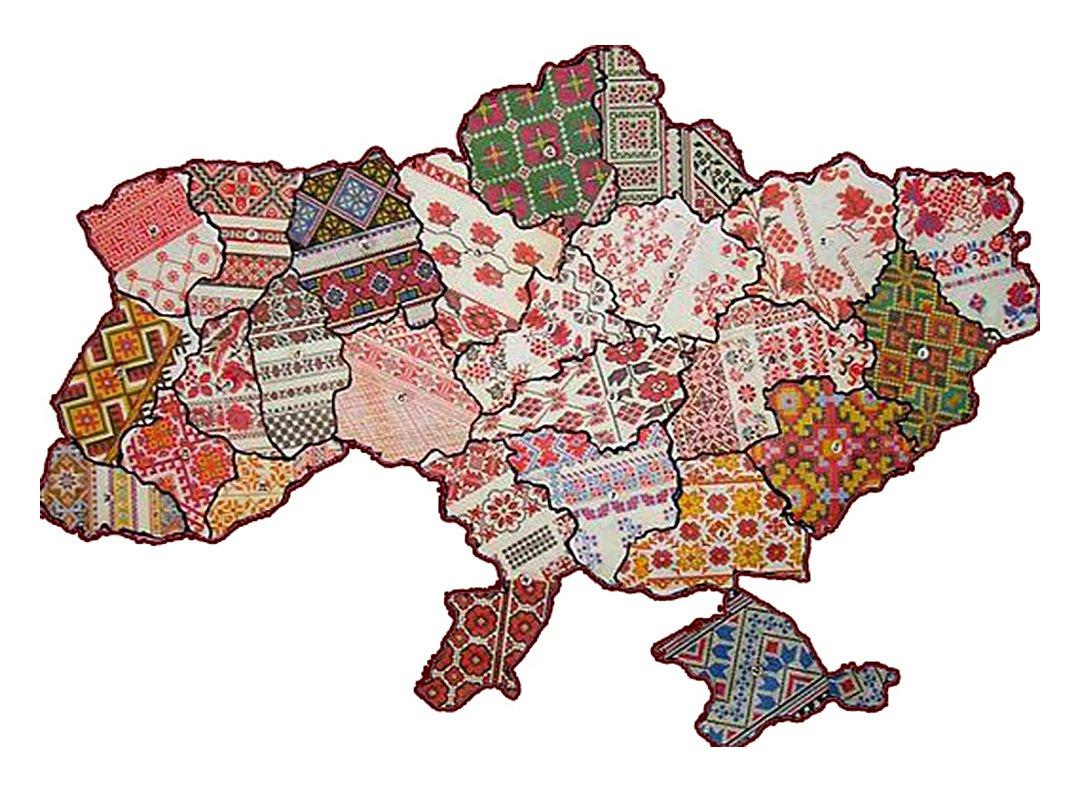 Traditional Ukrainian vyshyvanka embroidered shirts