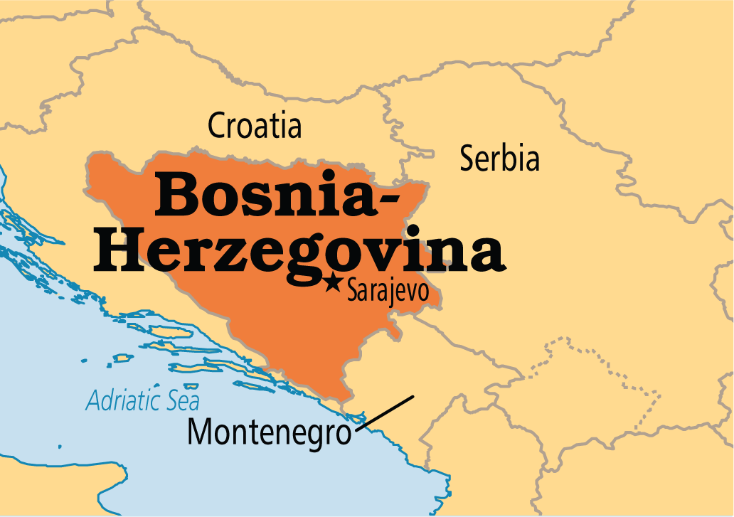 where in the world is bosnia herzegovina by ayele thinglink