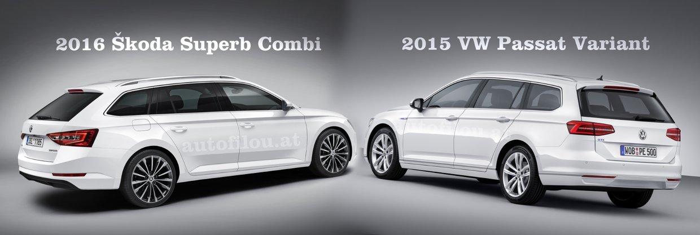 2016 Koda Superb Combi Vs 2015 Vw Passat Variant Thinglink