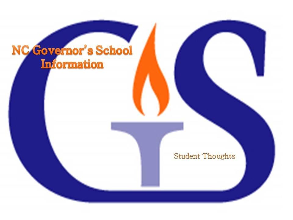 CCS Schools - NC Governor's School Information