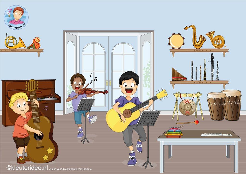 Vaak Kleuteridee | Muziekinstrumenten &IZ02