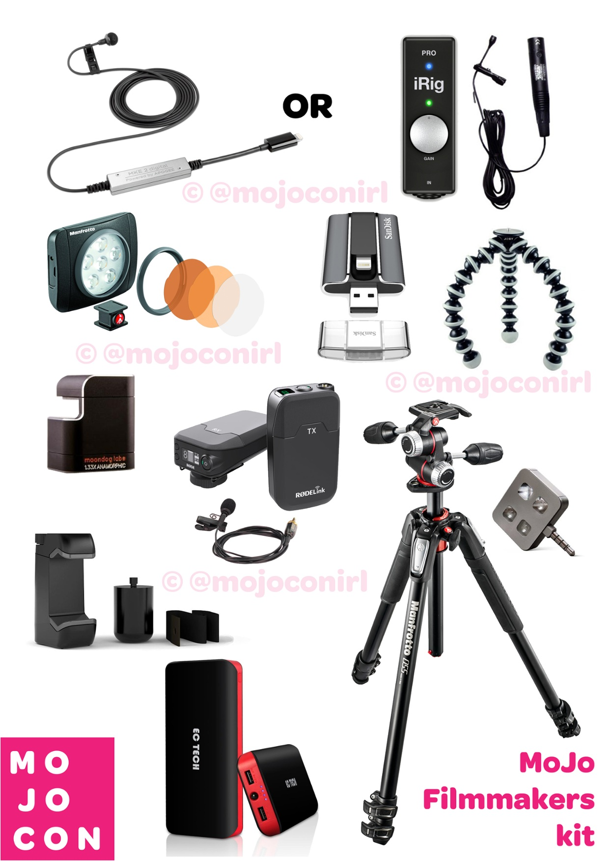 Mojo Interactive Film Makers Kit