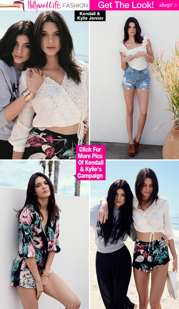 Kendall Kylie Jenner S Topshop Collection Unveiled See It Here