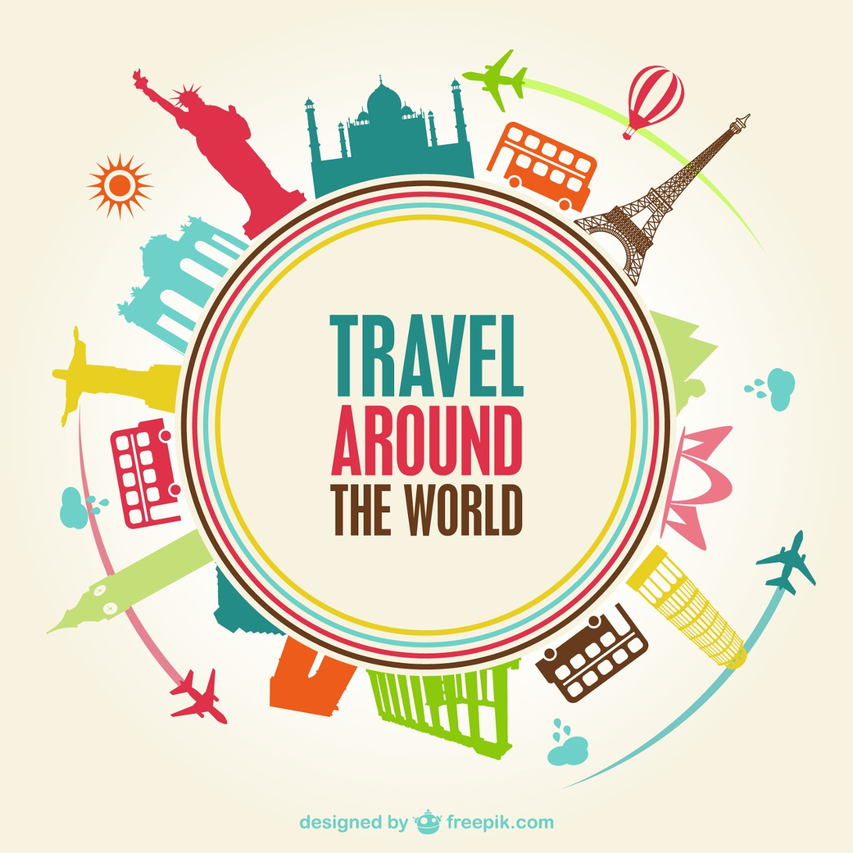 travel around the world thinglink