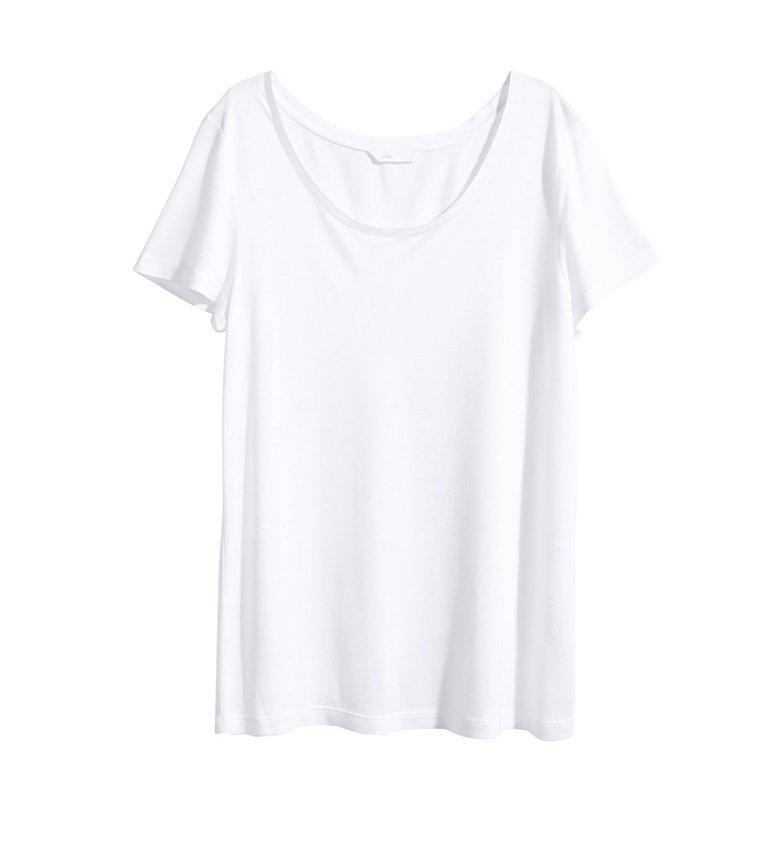 0c8a9ed95c372 La importancia de un básico  playera blanca - Mujer de 10