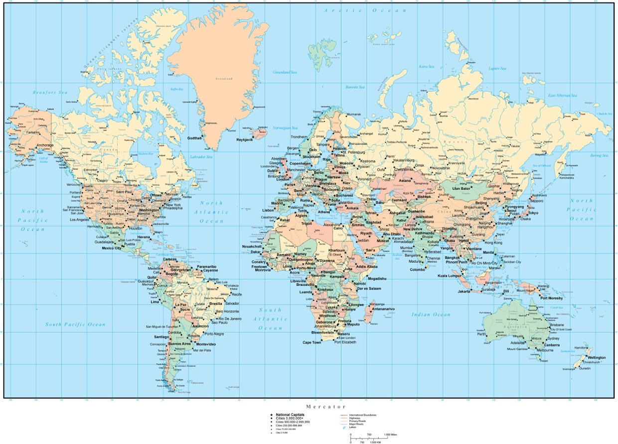 Download Free US Maps United States Map With State Names And US - Map us embassy abu dhabi