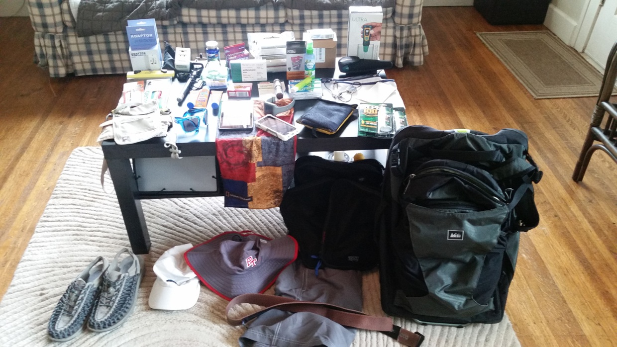 My Asia Packing List