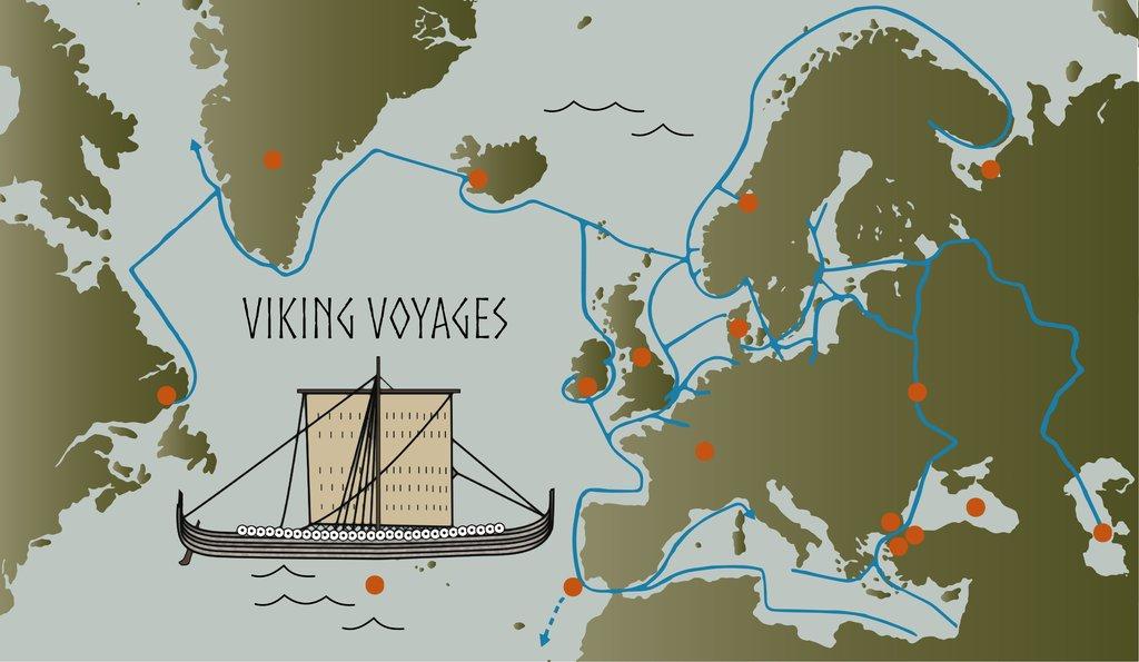 The Vikings: A Memorable Visit to America