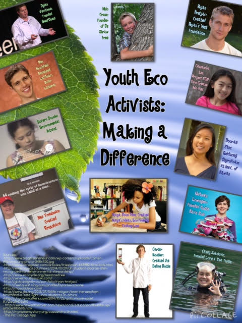 Youth Eco Activists:  Making A Difference
