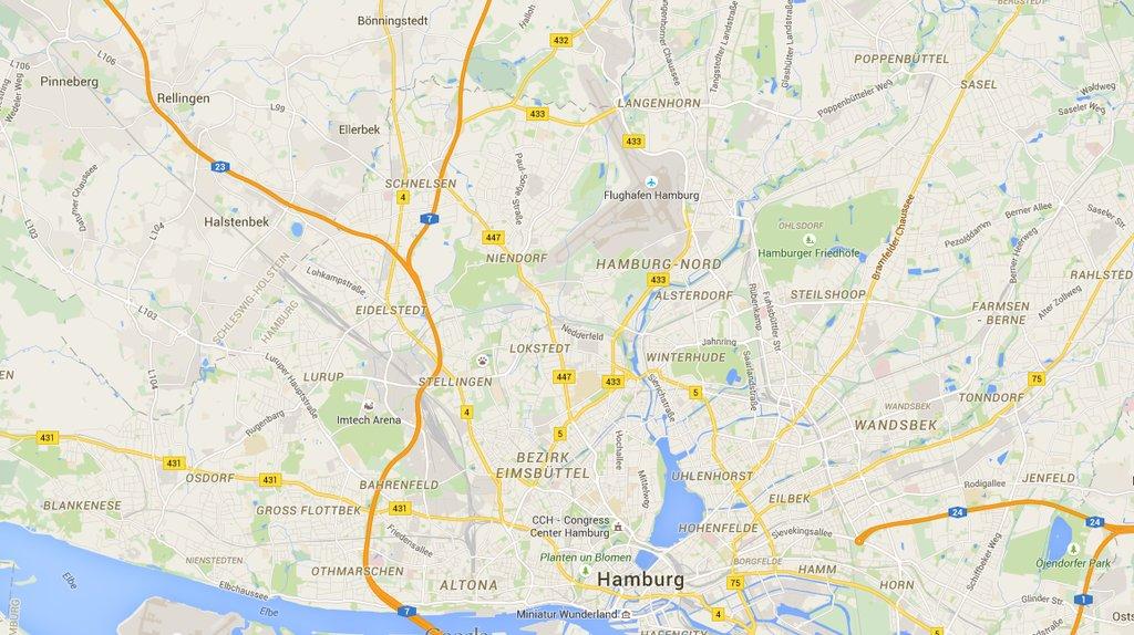 stor pik søges kort over vejarbejde tyskland