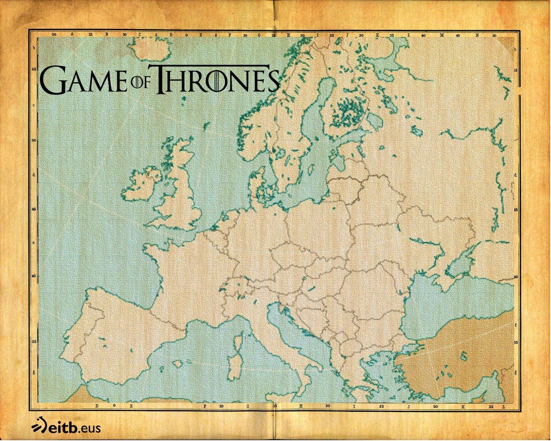 localizaciones juego de tronos
