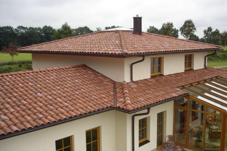 Mediterranean Sloping Roof