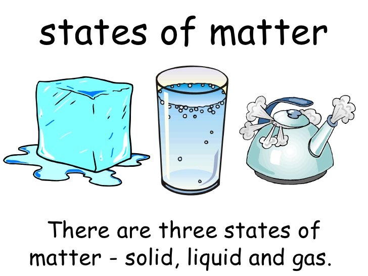 states of matter identify which is which