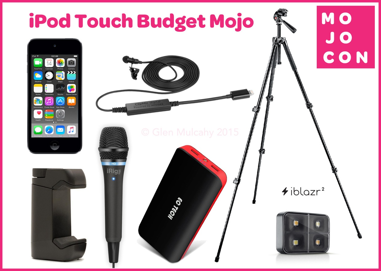 iPod Touch Budget Mojo kit