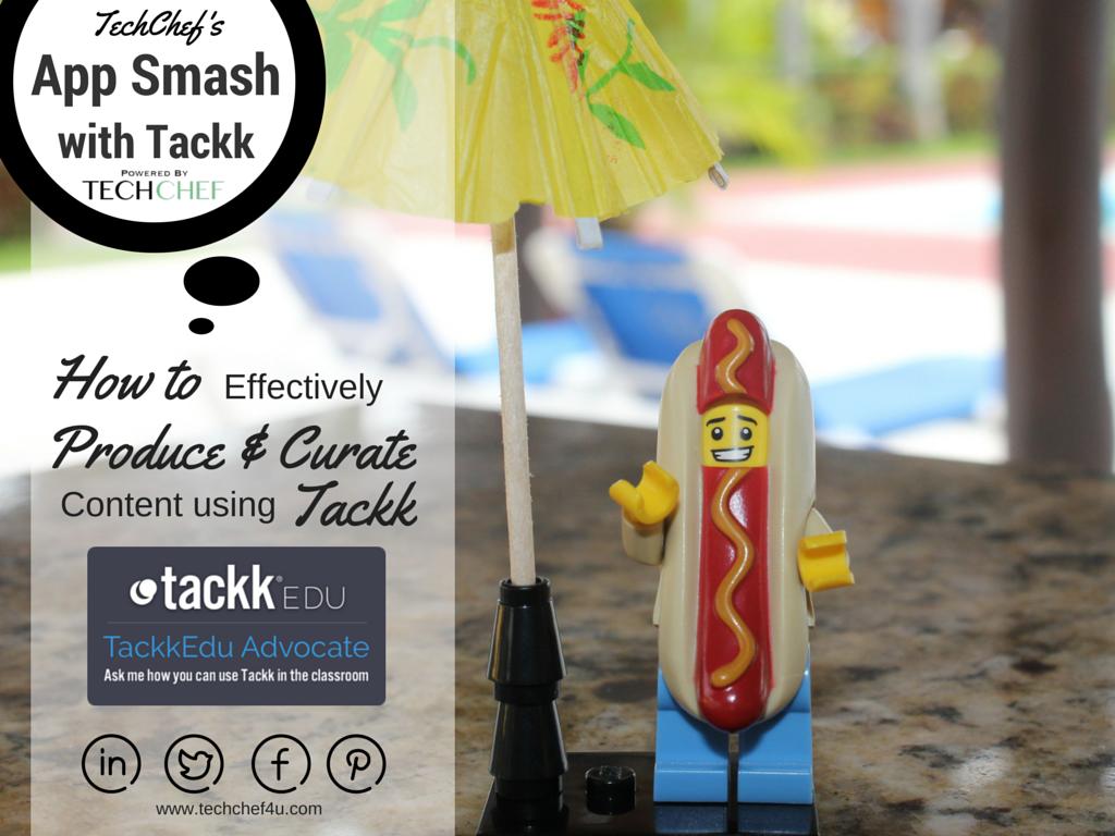 App Smashing with Tackk