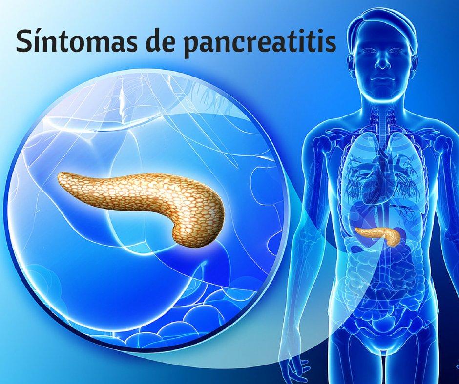 Síntomas de pancreatitis