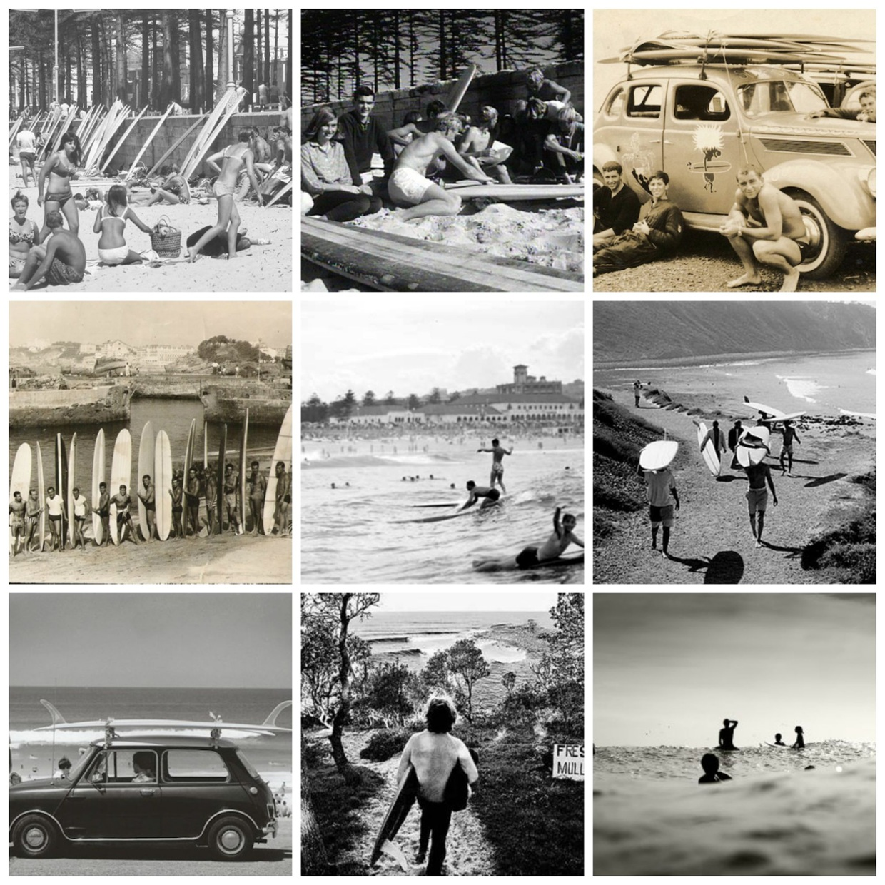 1960s Surf Trips Down South: Surf Culture In 1960's