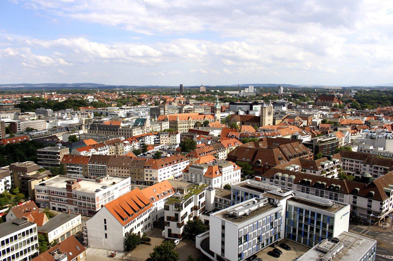 Blick über Braunschweig
