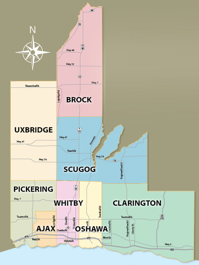 Durham Region Map Top 10 Most Affluent Neighbourhoods in Durham Region  Durham Region Map