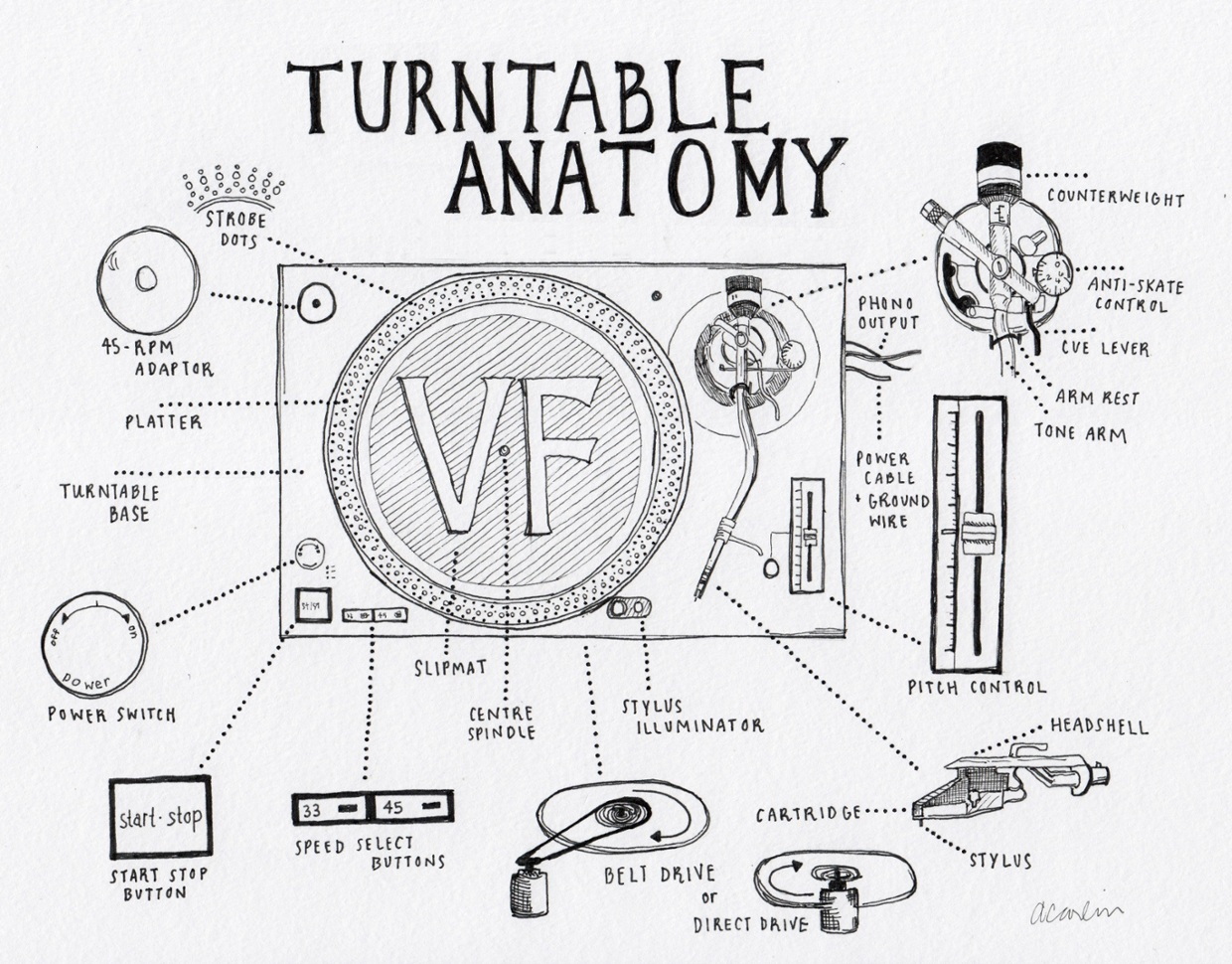 The Anatomy of the Turntable