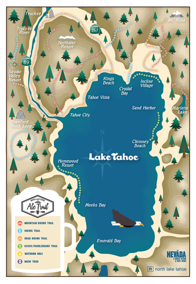Lake Tahoe Is Marrying Adventuring and Beer Drinking Outside Online