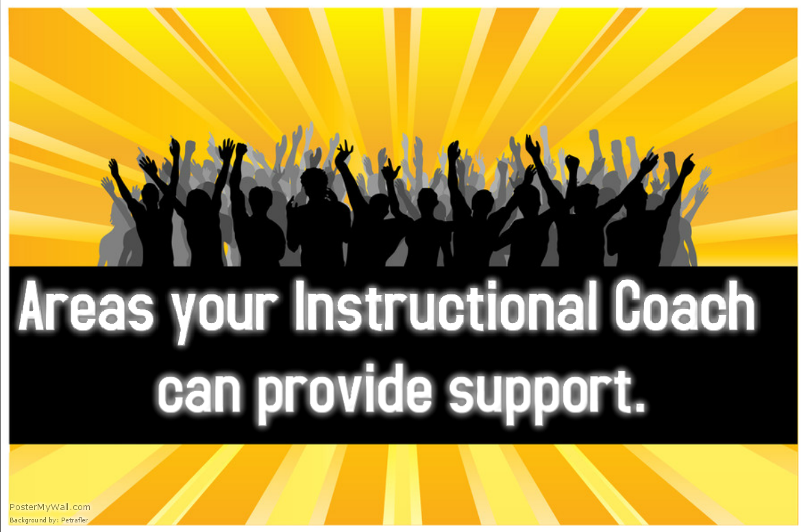 Areas Your Instructional Coach Can Provide Support