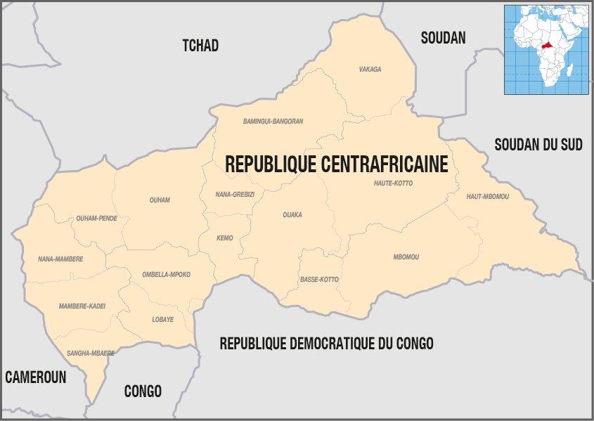 Activités de MSF en République centrafricaine en 2016