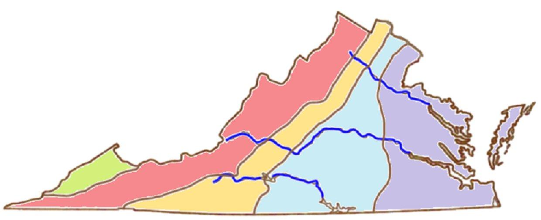 Gail 5 Regions Of Va
