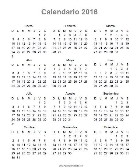 Calendario 2016 Argentina.Agenda En Mano Casas En El Este