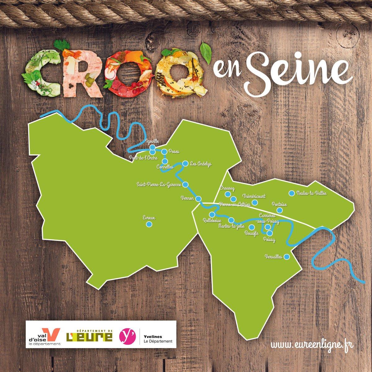 CROQ'EN SEINE : programme des animations 25, 26 et 27/09