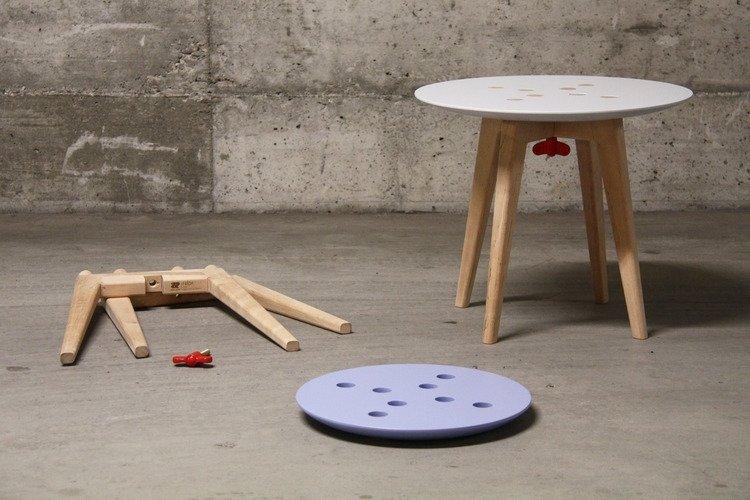 Side table deconstruction