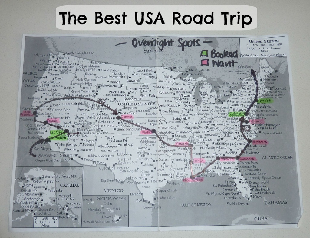 The Best USA Road Trip! – melissaclarkedigital