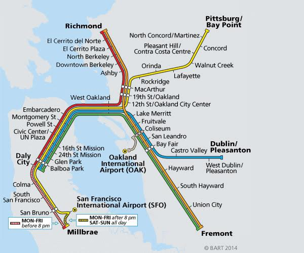 BART is changing its schedule how will it be different Oakland