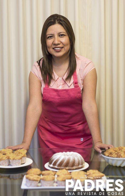 """Receta de Claudia Salazar de""""Claudia Cupcakes"""""""
