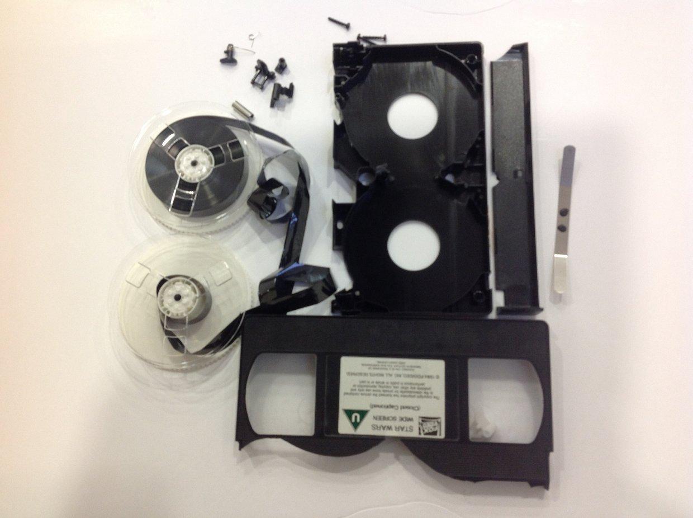 VHS tape deconstruction