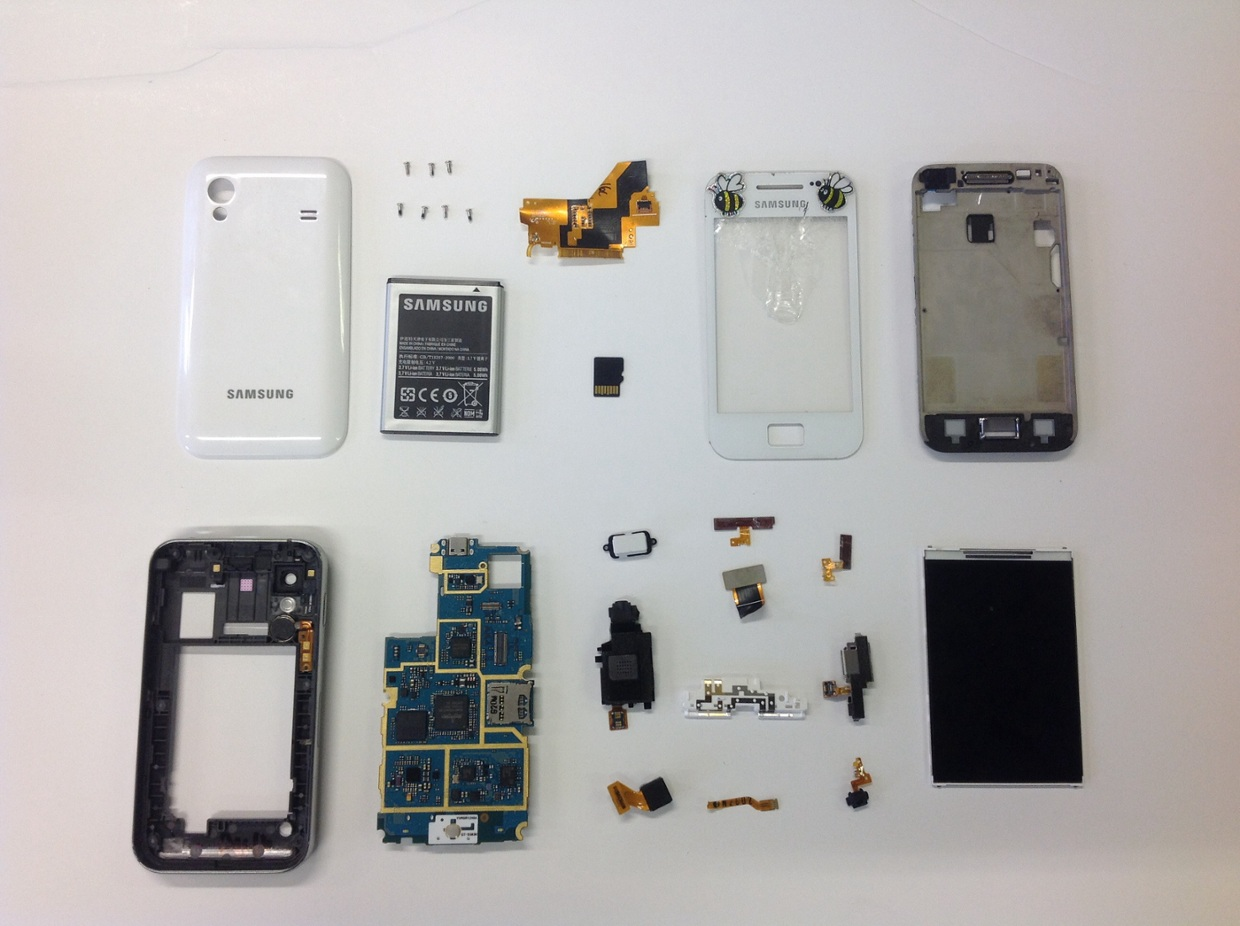 Samsung Phone disassembly