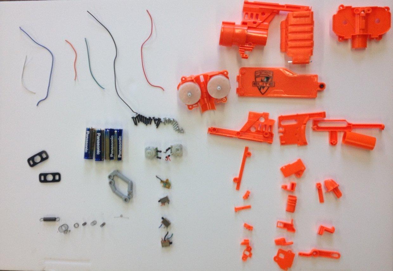 Nerf gun deasemble