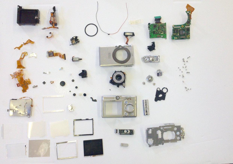 Digital camera deconstruction