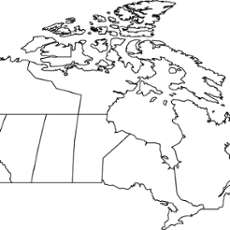 Worksheet. Canada outline map  ThingLink