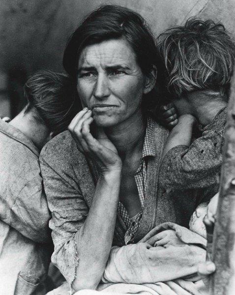 Grande Dépression 1929: Mère migrante