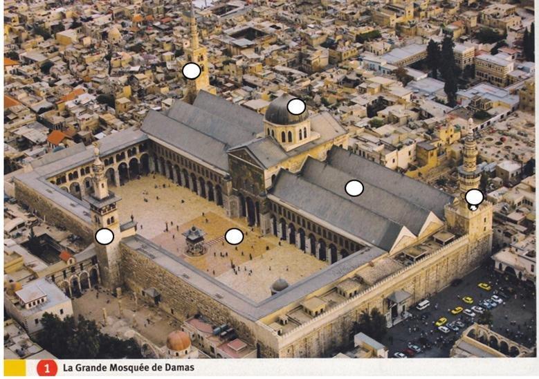 A la découverte de la grande mosquée des Omeyyades