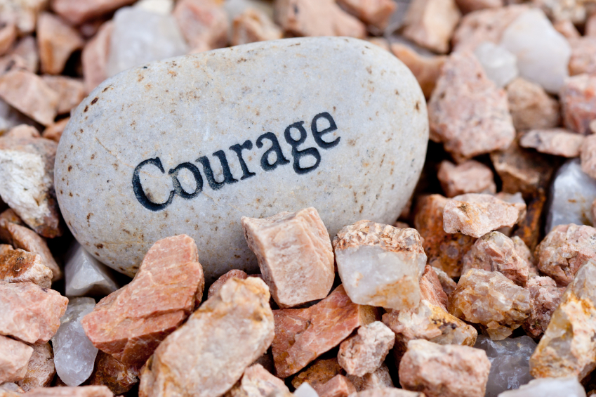 Courage is standing up for what you believe in. Martin Lu...