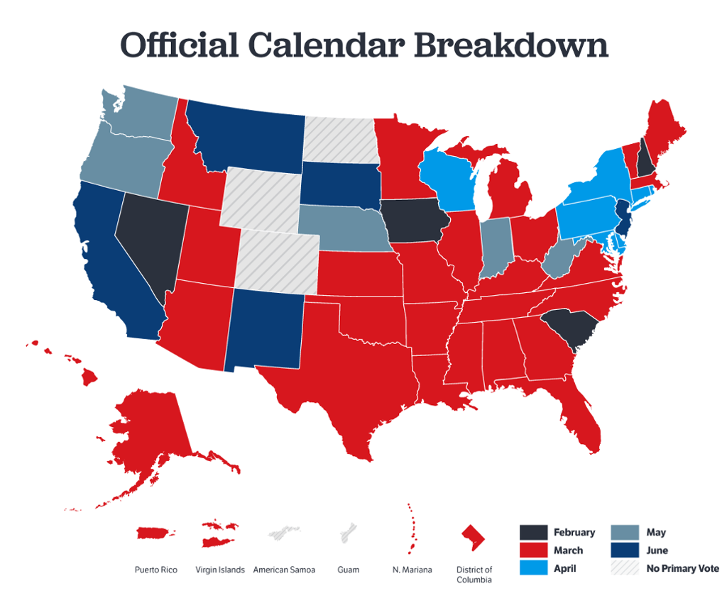 The Official Guide to the 2016 Republican Nominating Process   GOP